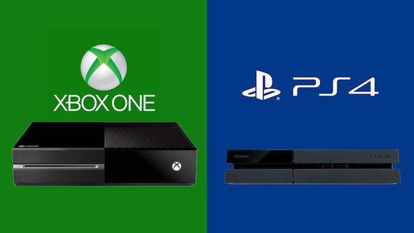 Microsoft Xbox One Ps4