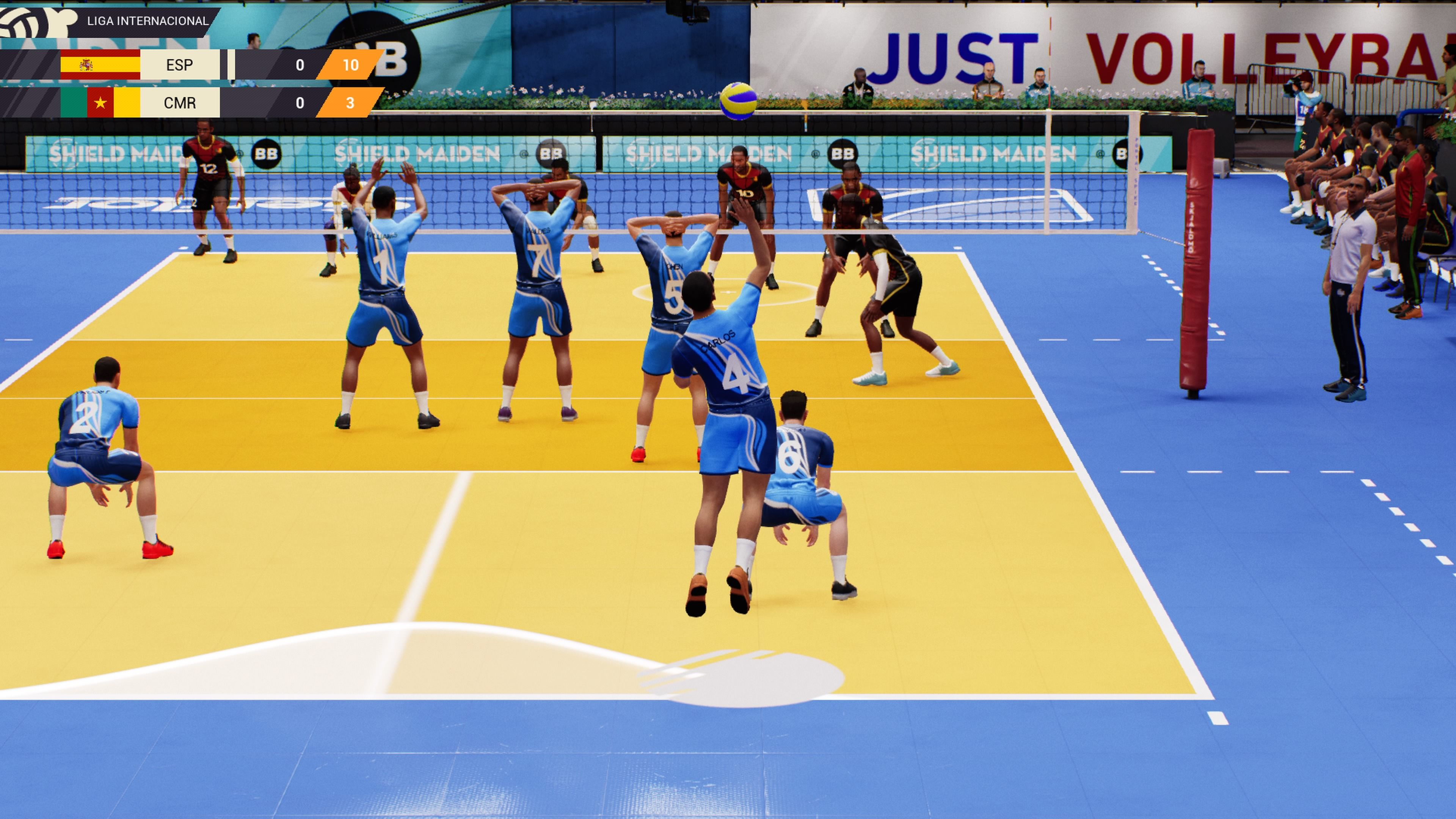 Spike Volleyball Versi/ón Espa/ñola