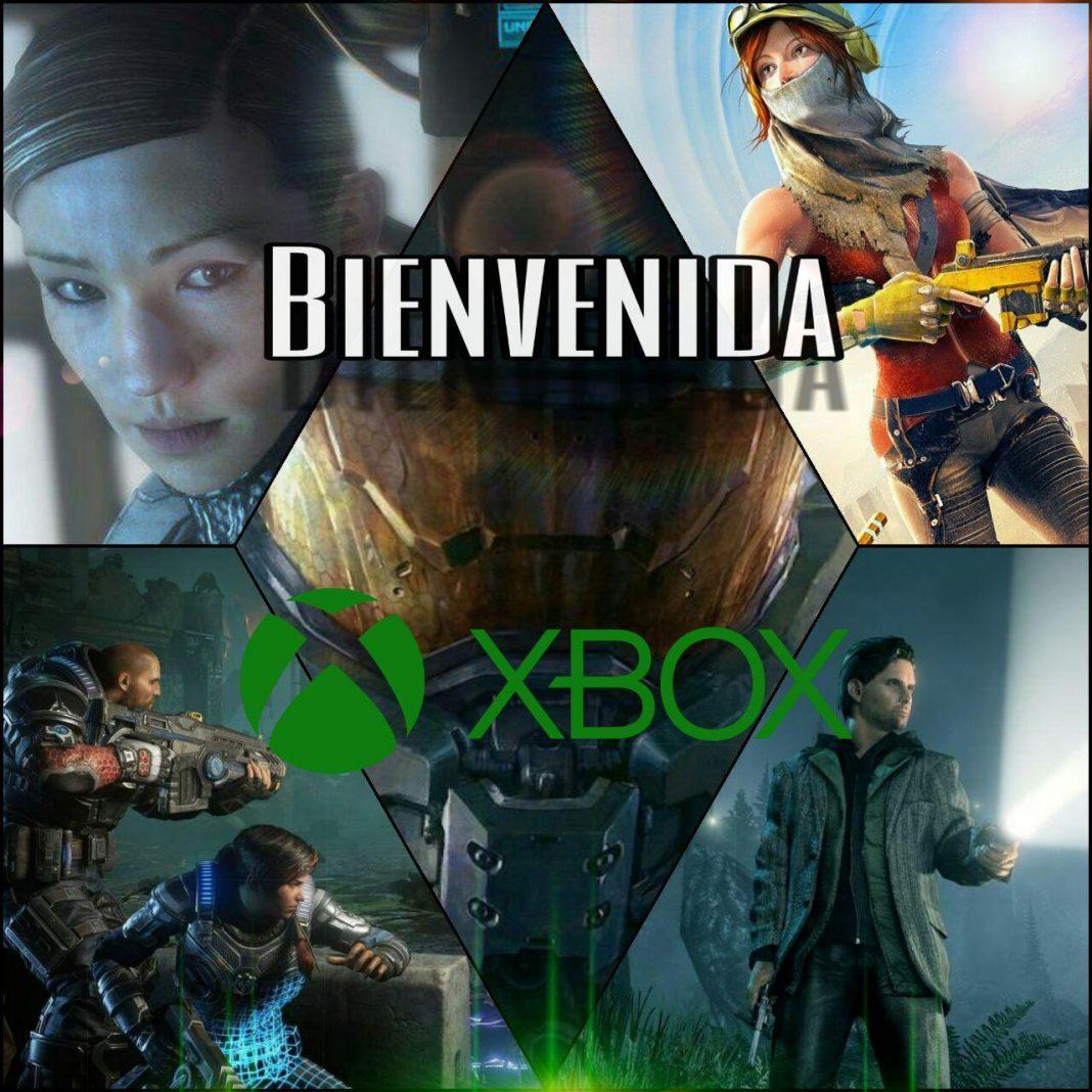 Bienvenida Xbox
