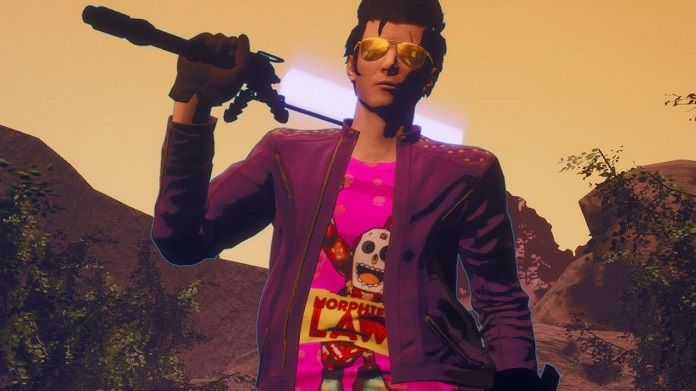 Travis Strikes Again No More Heroes 01