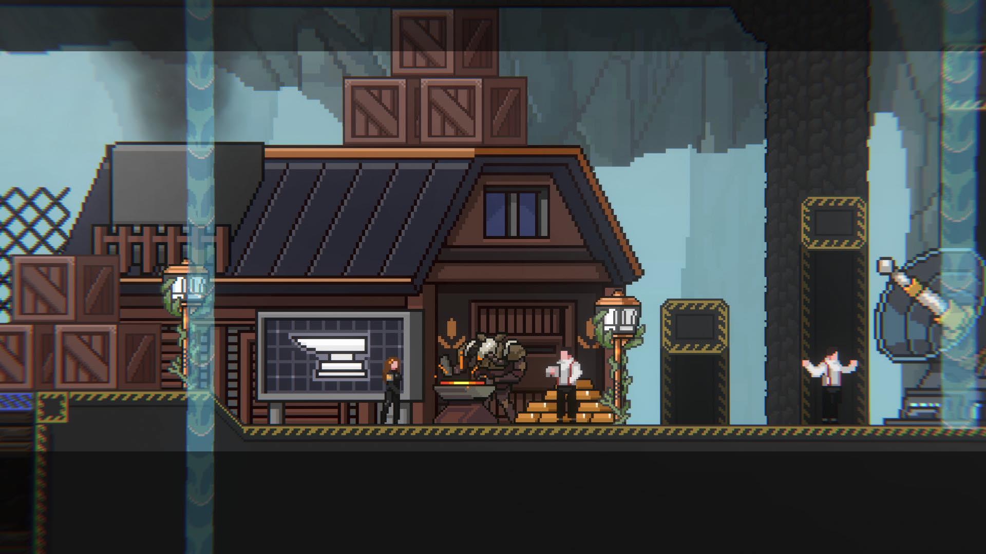 Neowiz Publicara Metal Unit Aventura 2d Pixelada Para Steam Allgamersin