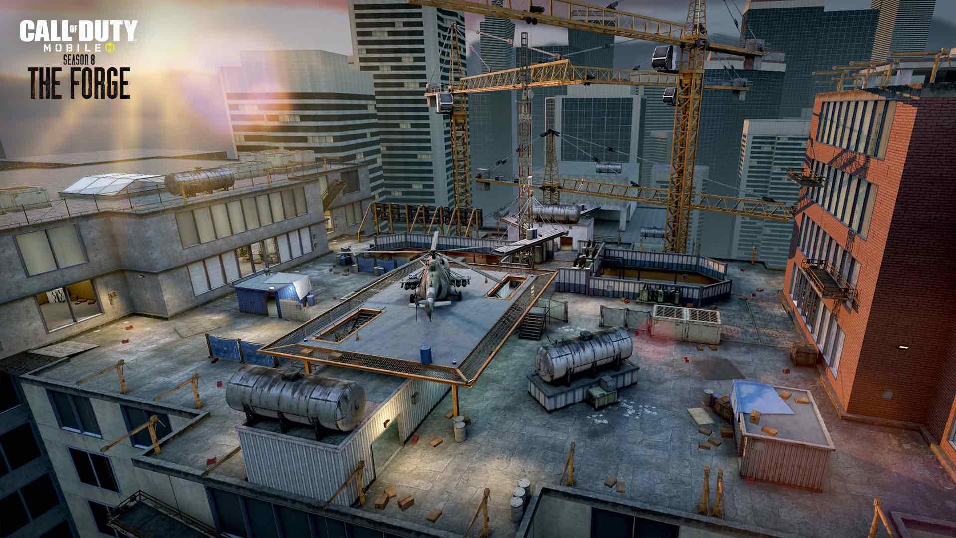Ya Esta Disponible The Forge La Temporada 8 De Call Of Duty Mobile Allgamersin