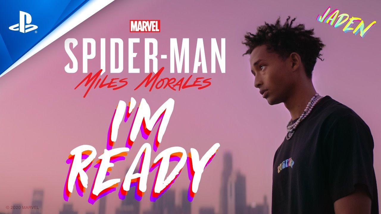 Jaden Smith Presenta I M Ready La Canción Oficial De Marvel S Spider Man Miles Morales Allgamersin
