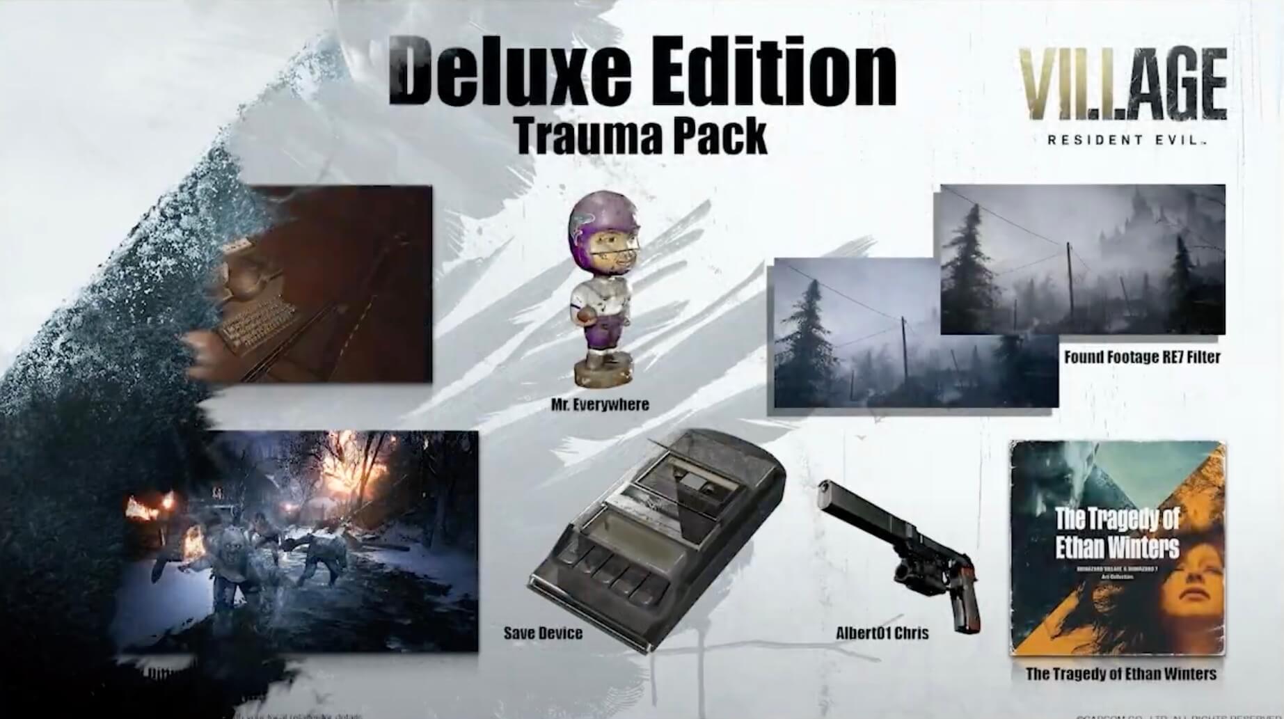 Descubre todas las ediciones de Resident Evil 8: Village, que ya se pueden  reservar - AllGamersIn