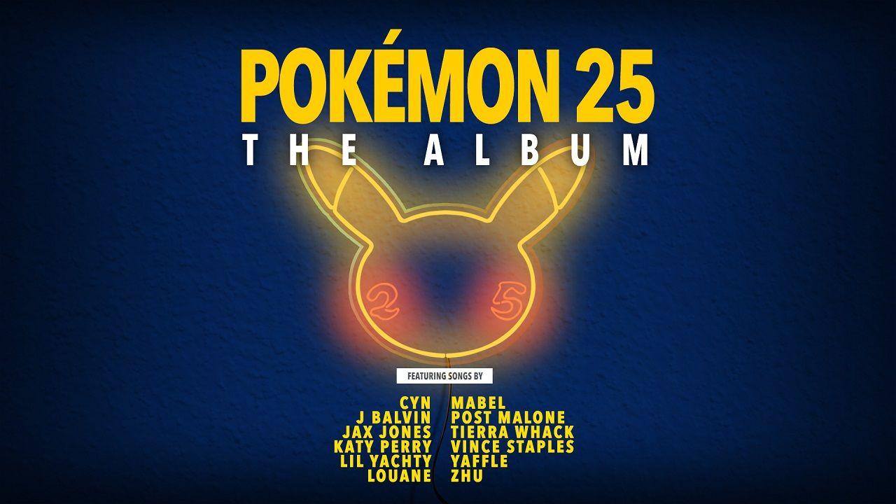 Déjate llevar por el ritmo. Pokémon 25: El álbum ya tiene fecha de estreno