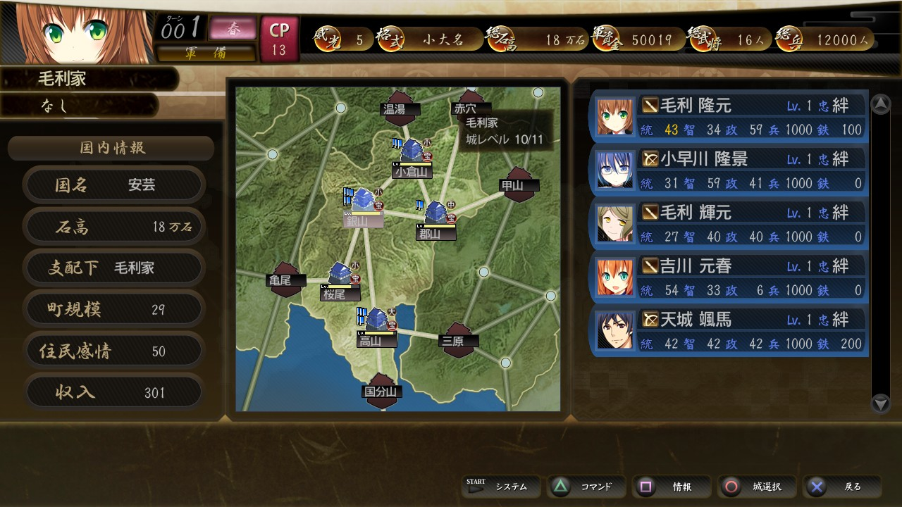 4 to supremacy senkyokuhime all means protect oath hana PS3 2
