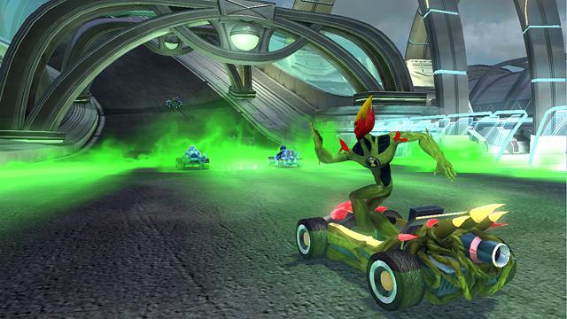 Ben 10 galactic racing vita PSVITA 1