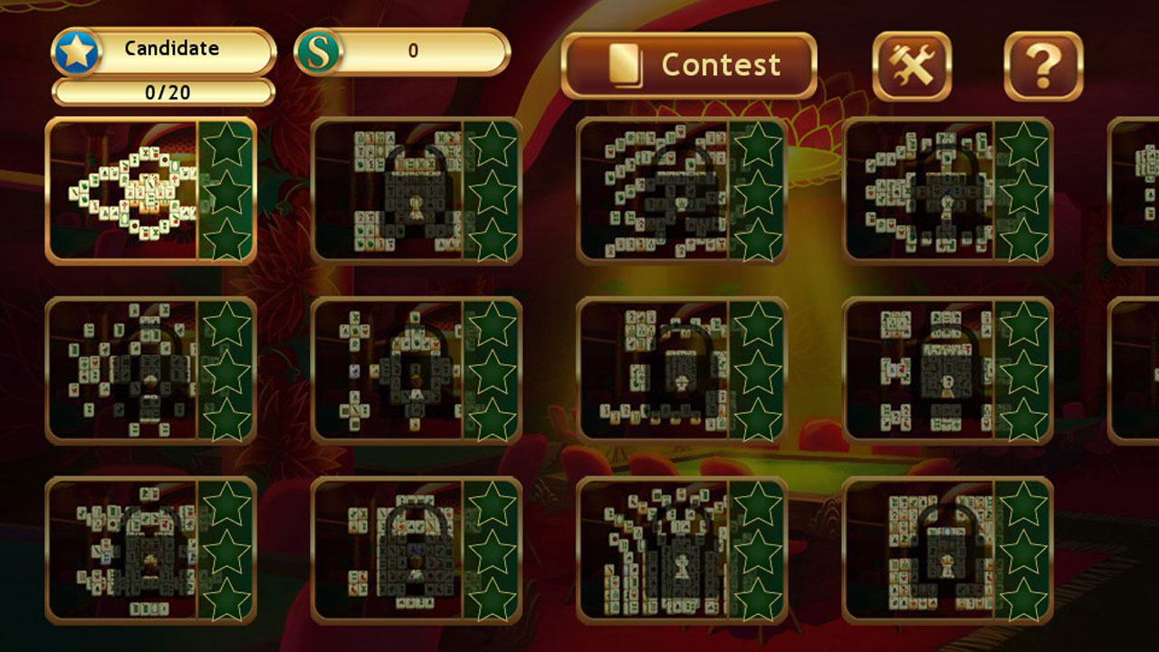 Mahjong world contest PSVITA 3